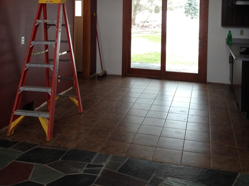 Interior Construction Pittsburgh Erie Pa Tile Floor Installation