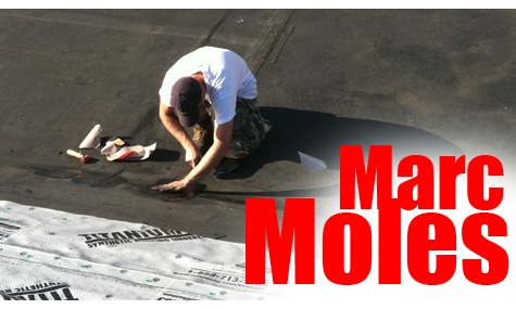 Marc Moles - Roofer, Commercial Foreman