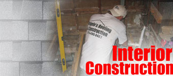 Roofing Erie Pittsburgh Pa - Interior Construction